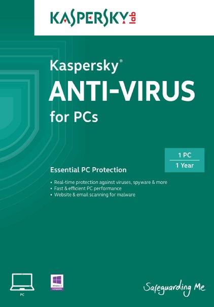 Kaspersky Anti-Virus 2 ПК 1 год