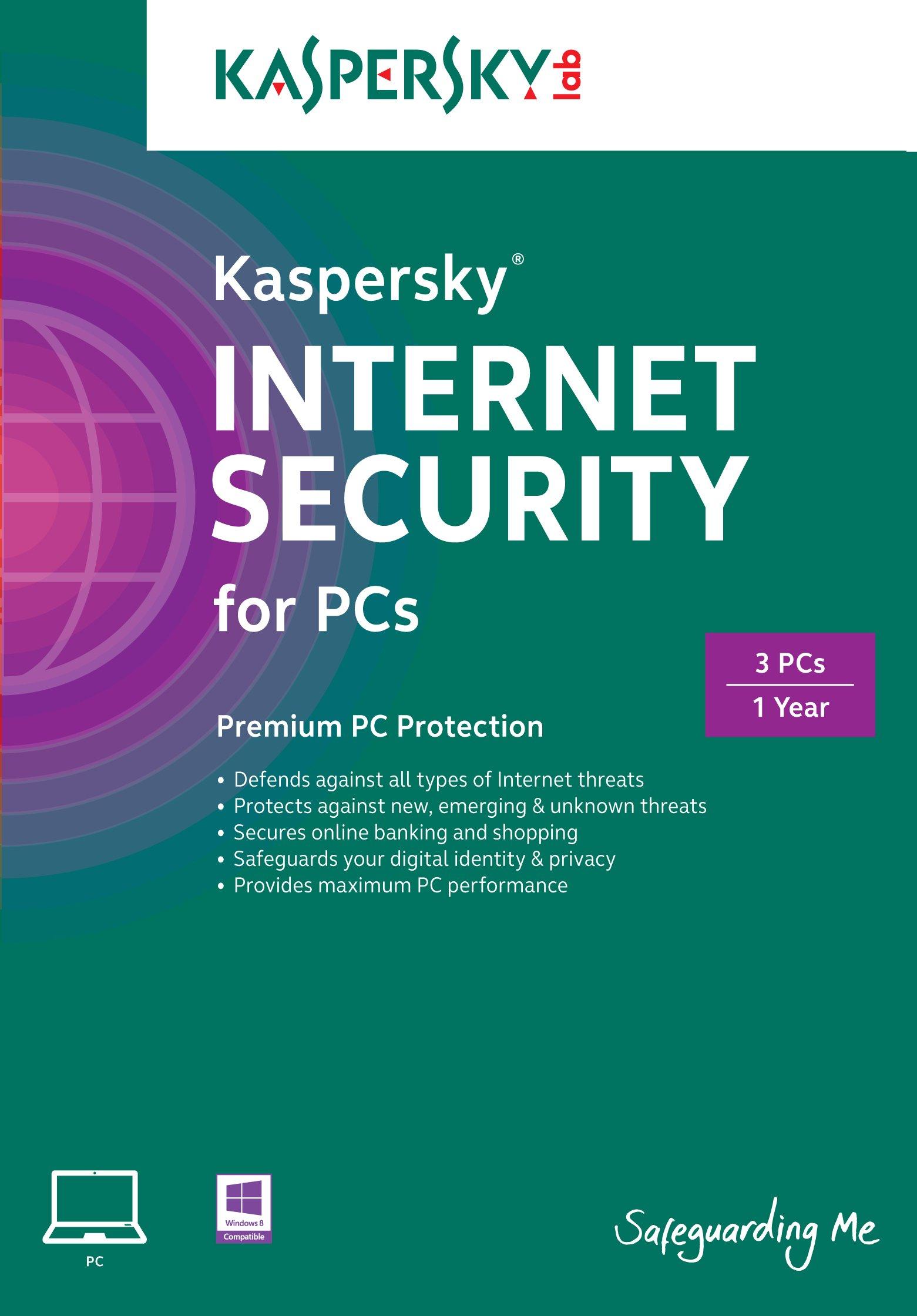 Kaspersky Internet Security 2 ПК 1 год