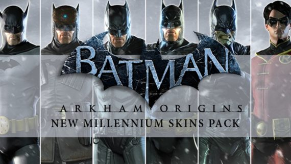 Купить ключ Batman Arkham Origins — New Millennium Skins Pack