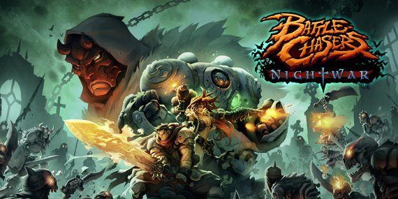 Купить ключ Battle Chasers: Nightwar