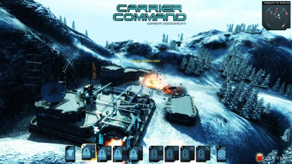 Купить ключ Carrier Command Gaea Mission